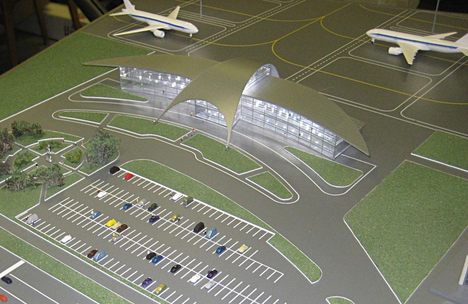 Аэропорт макет своими руками 41