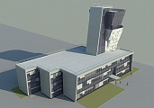 Project of control tower at Rostov-on-Don Airport