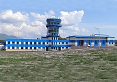 Emergency Rescue Station Blocked with Control Tower in Gelenjik Airport