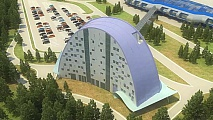 Project of the hotel at Khanty-Mansiysk Airport