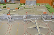 Model of Ufa Airport