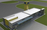 Project of Emergency Rescue Station in Ulyanovsk Airport